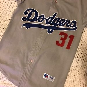 pretty nice b3438 e9911 Mike Piazza Vintage Dodgers Jersey 💙